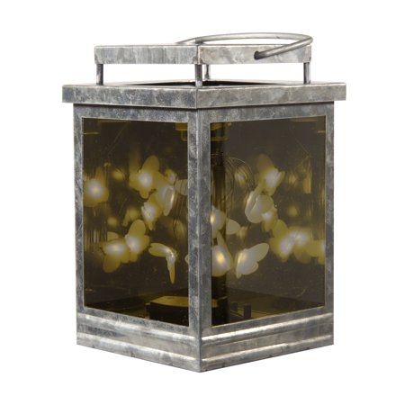 Flowers Wax Lantern - Better Homes & Gardens Infinity Hot Plate Wax Warmer, Galvanized Lantern