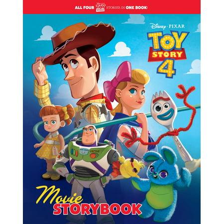 Blonde Storybook Characters (Toy Story 4 Movie Storybook (Disney/Pixar Toy Story)