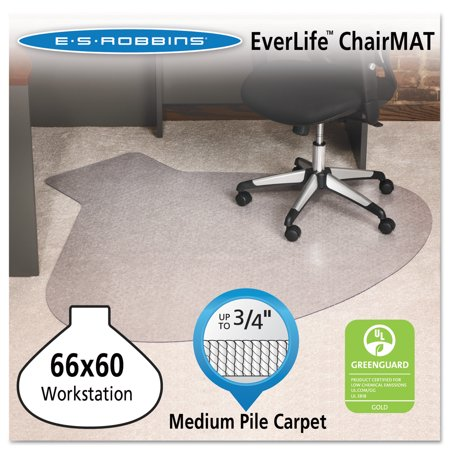 plastic carpet office mats es for chair everlife workstation under high mat robbins pile