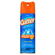 Unscented Cutter Insect Repellent, Aerosol Spray, 6-Ounce