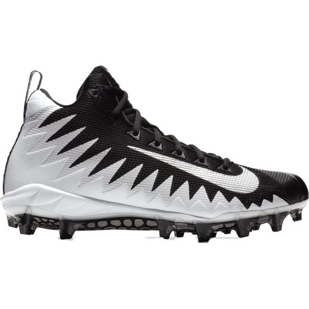 Nike Men's Alpha Menace Pro Mid Football Cleats Strap Mid Football Cleat