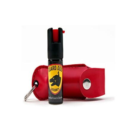 Guard Dog Hard Case Keychain Pepper Spray - Pink