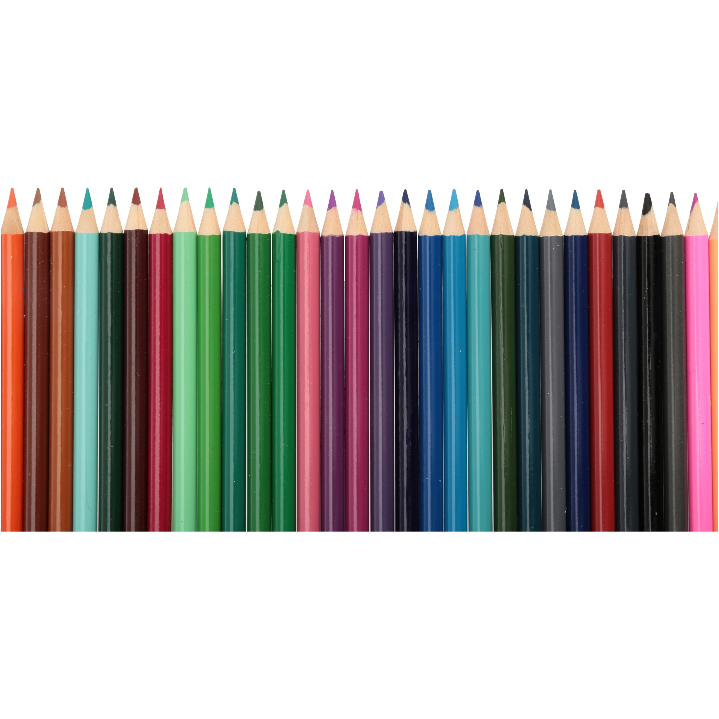Great for Coloring or Drawing Leisure Arts Heavily pigmented for Even Color 80 Pack Pre-Sharpened Colored Pencils