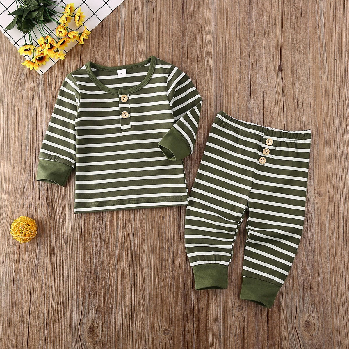 Toddler Baby Kids Boy Long Sleeve Tops Trousers Pants Casual Daily Wear Outfits