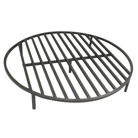 Round Fire Pit Grate 36'' Heavy Duty Grill Cooking Campfire Camp Ring 1/ - Round Fire Pit Grate 36'' Heavy Duty Grill Cooking Campfire Camp