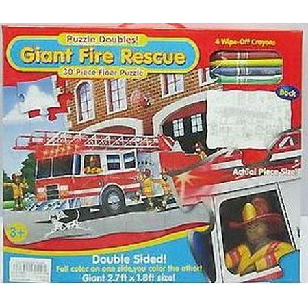 Fire Rescue Floor Puzzle