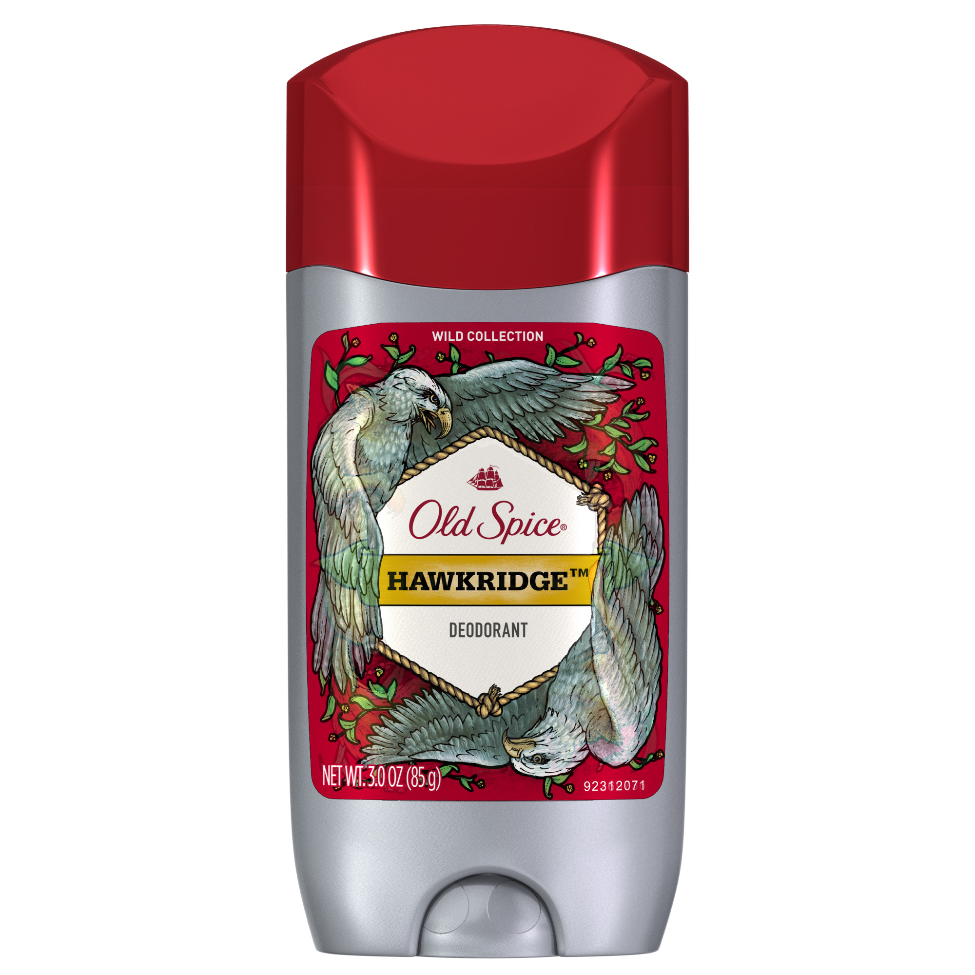 Old Spice Wild Hawkridge Scent Deodorant for Men, 3 oz