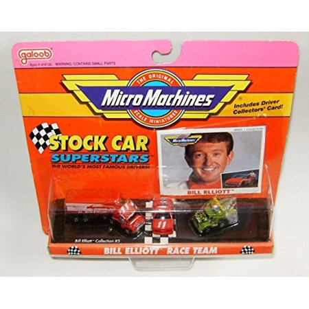 Micro Machines Stock Car Bill Elliot Superstars #5 (Super Machines)