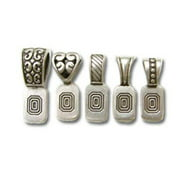 Bold 500235 Antique Silver Variety Art Bails, Pack of 5