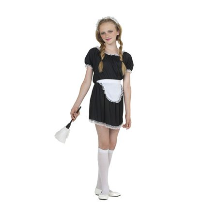 Upstairs French Maid Child Costume