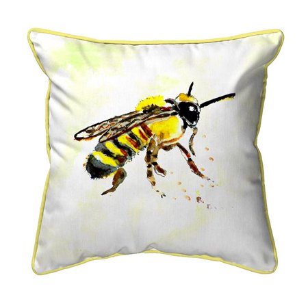 Betsy Drake ZP731B 22 x 22 in. Bee Extra Large Zippered Pillow - image 1 of 1