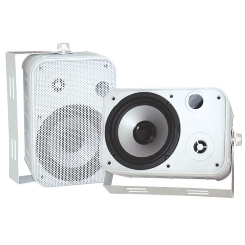"Pyle PDWR50W 6.5"" Indoor/Outdoor Waterproof Speakers (White)"
