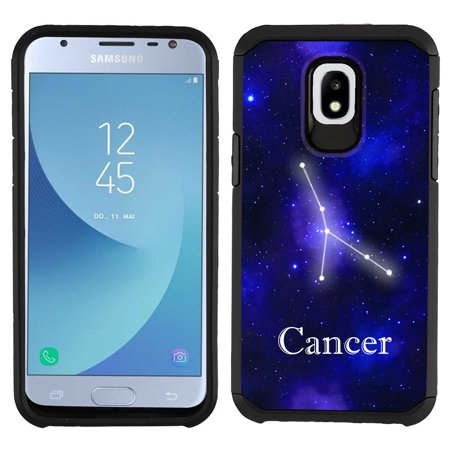 premium selection 2c5e9 8067f For Samsung Galaxy J3 Orbit Case, OneToughShield ® Dual Layer ShockProof  Protector Phone Case - Zodiac / Cancer