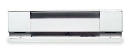 "DAYTON 36"" Electric Baseboard Heater, White, 750 564 423W, 208 240 277V, 3ENC5 by Electric Heaters"