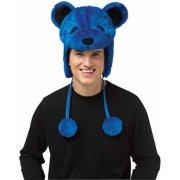 Grateful Dead Blue Bear Adult Costume Hat