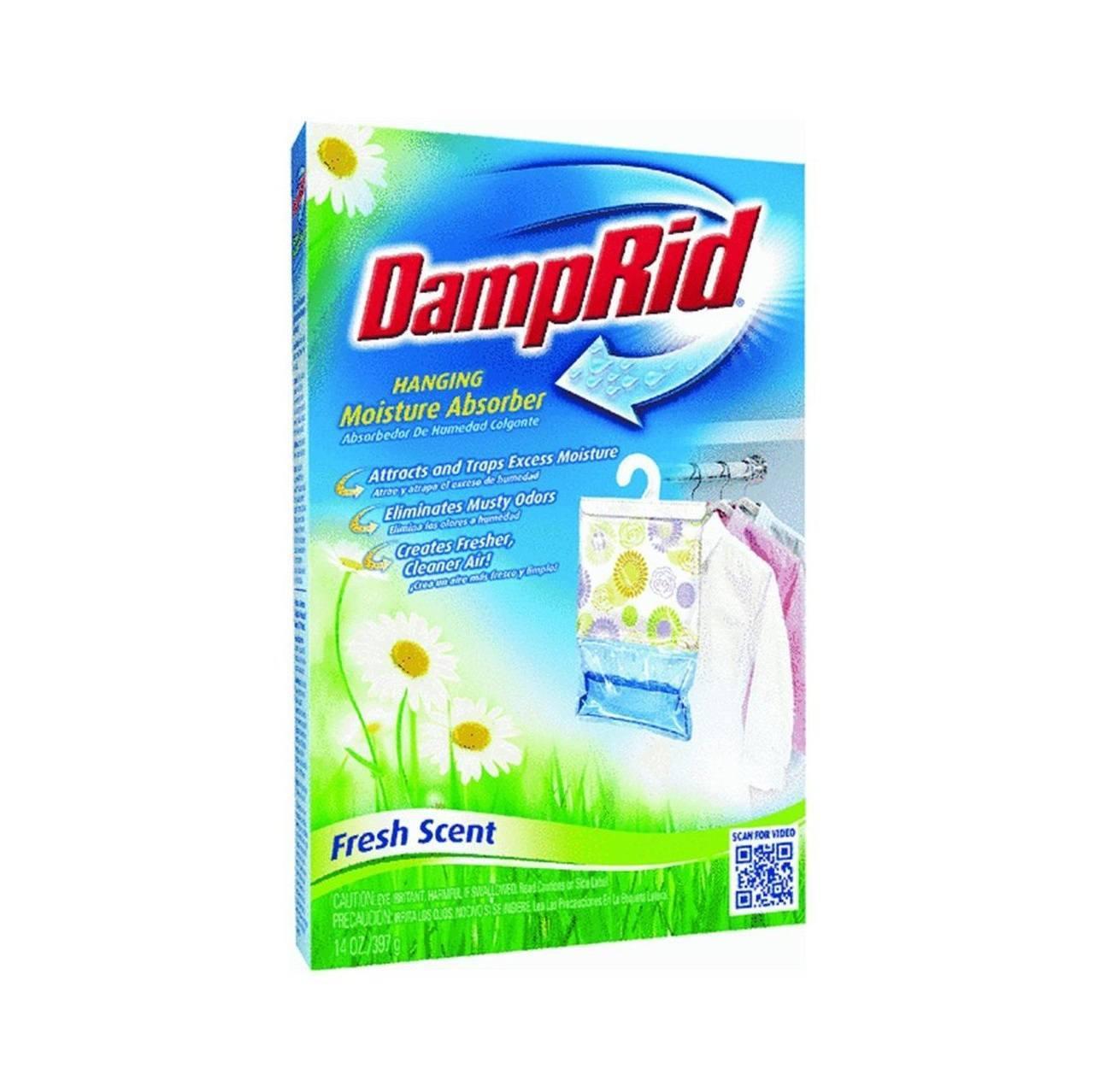DampRid Hanging Moisture Absorber Fresh Scent, 14oz (Pack...