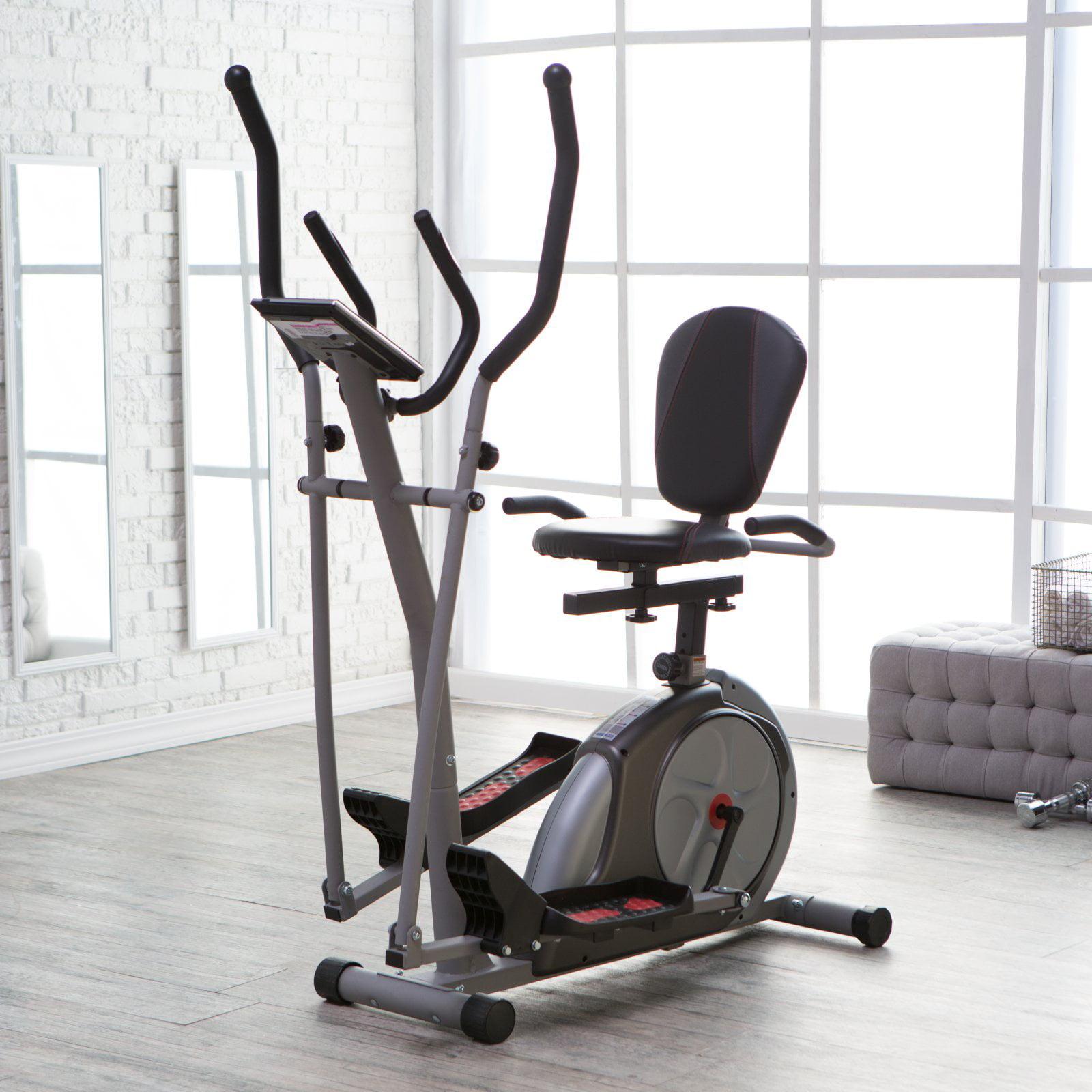 Body Rider 3-in-1 Trio Trainer - Elliptical/Recumbent Bik...