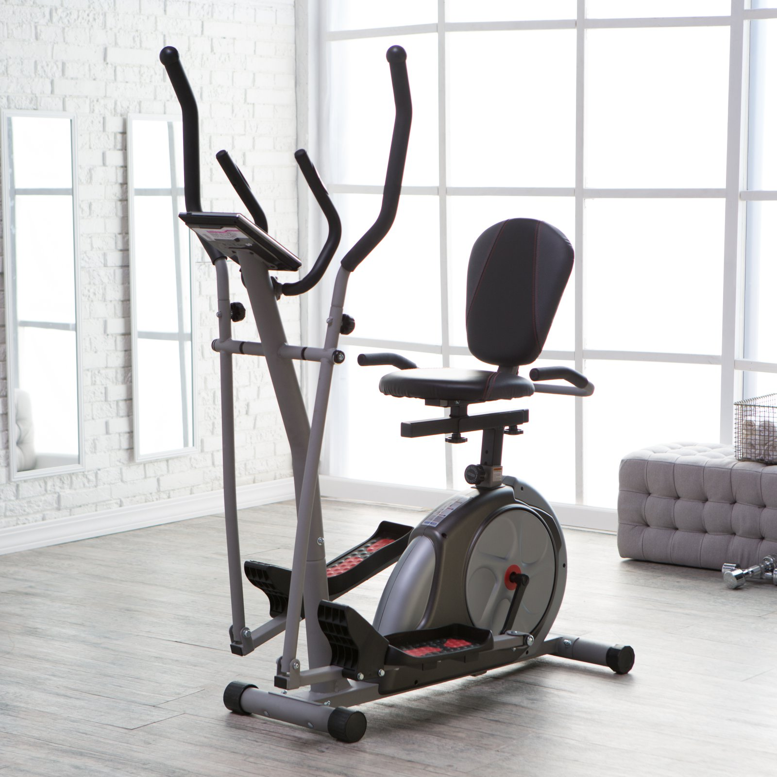 Body Rider 3-in-1 Trio Trainer - Elliptical/Recumbent Bike/Upright Bike