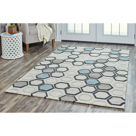 Rizzy Home LC9430 Light Gray 2