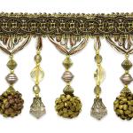Expo Int'l 10 yards of Preshea Decorative Beaded Fringe Trim