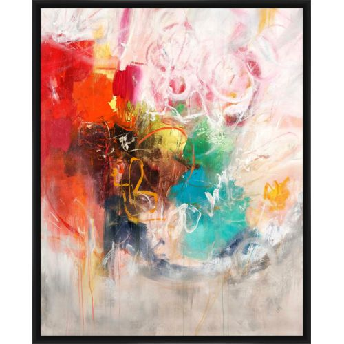 """PTM Images 2378247 22"""" x 18"""" """"Lights Gets In"""" Inverse-Framed Art Print on Stretched Canvas"""