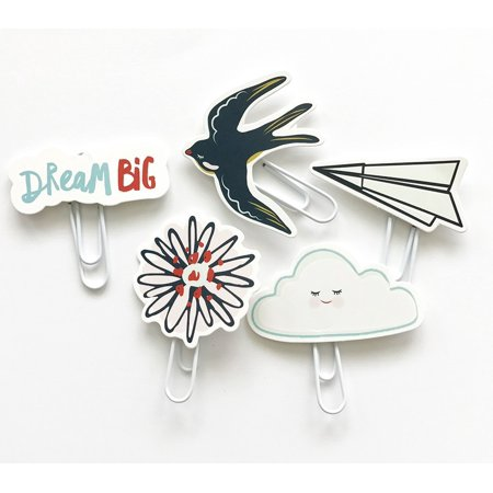 Dream Big Die Cut Paper Clips - Fancy Pants](Fancy Paper)