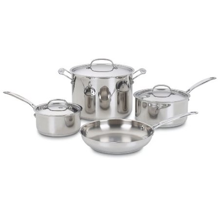 Cuisinart 77-7 Chef's Classic Stainless 7-Piece Cookware Set [Kitchen]