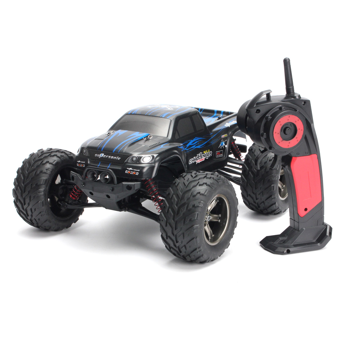 2.4Ghz 1:12 2WD 35 RC Cars Rock Off-Road + MPH High Speed...