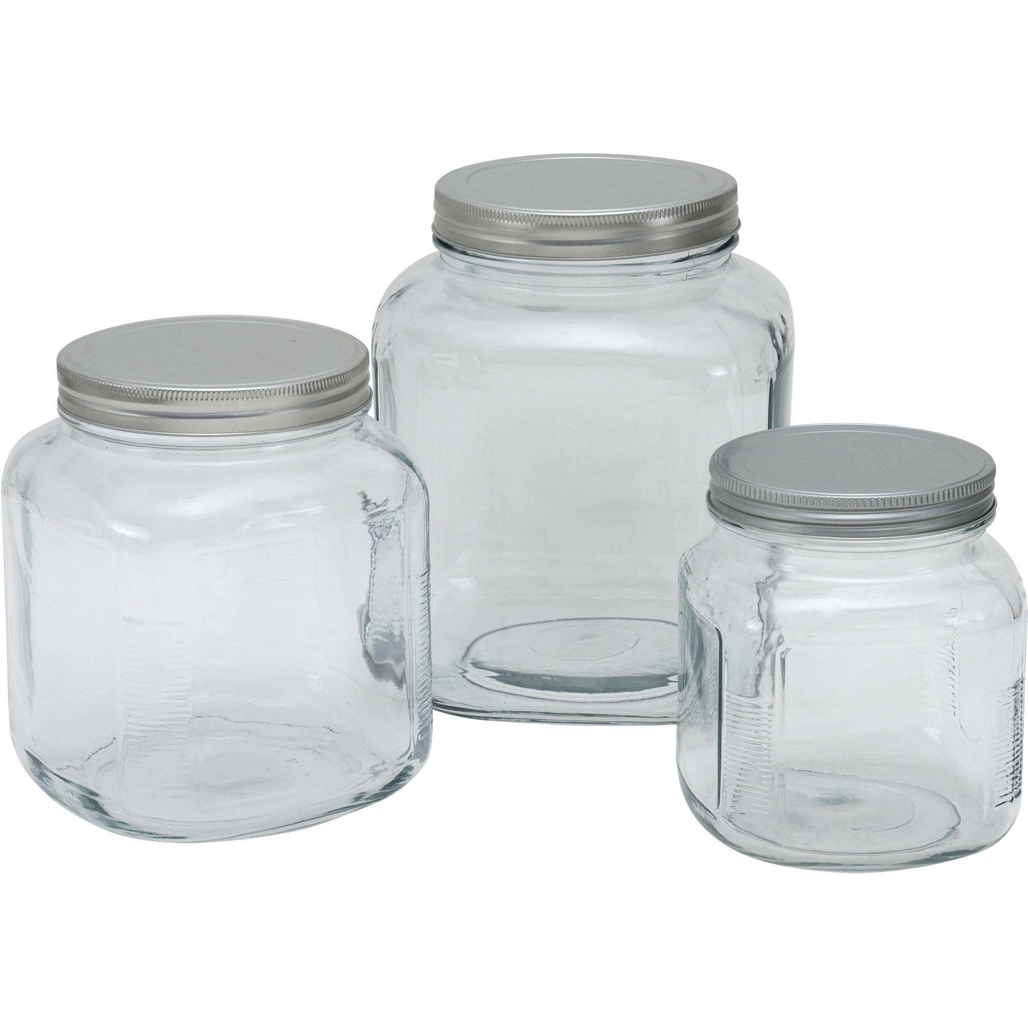 Anchor Hocking Cracker Jar With Lid