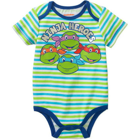 Teenage Mutant Ninja Turtles Newborn Baby Boys' Bodysuit
