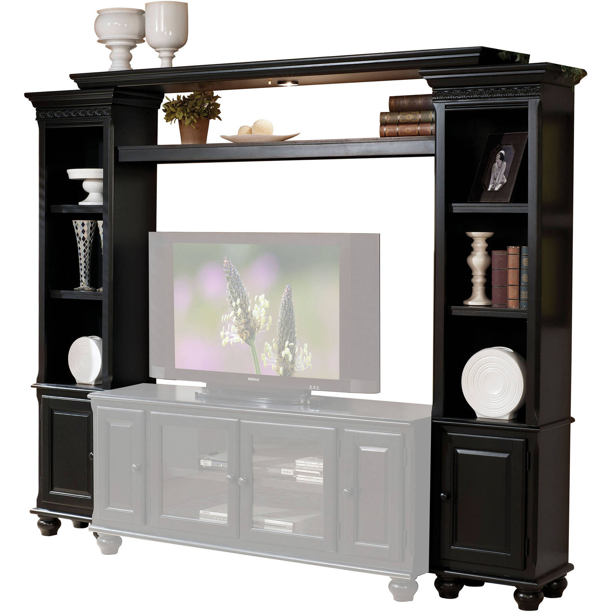 Acme Ferla Entertainment Center, Black (Box 1 of 3)