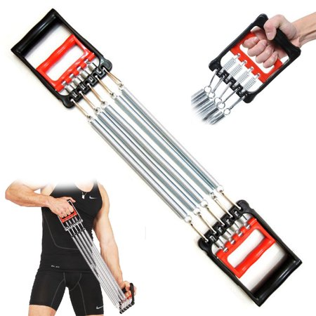 Fitness Maniac 5 Spring Chest Expander Exercise Fitness Strength Training Adjustable