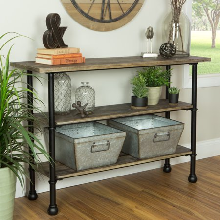 Awe Inspiring Palmer 3 Shelf Console Table Machost Co Dining Chair Design Ideas Machostcouk