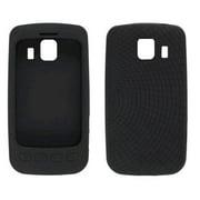 Radiant Silicone Gel Case for LG Optimus S LS670 - Black