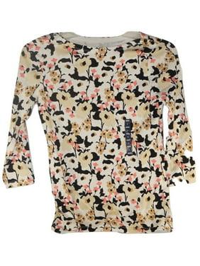 New Women's Tops Button Up Dress & Quarter Sleeve Shirt Land's End Collection