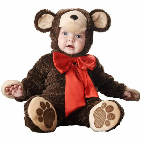 Homemade Teddy Bear Halloween Costume (Lil' Teddy Bear Elite Collection Infant Halloween)