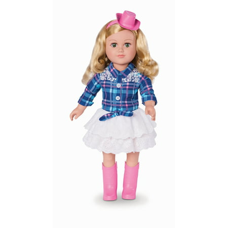 "My Life As 18"" Poseable Cowgirl Doll, Blonde Hair"