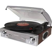 Crosley CR6005A-MA Tech Turntable with AM/FM Radio and Portable Audio Ready (Mahogany)