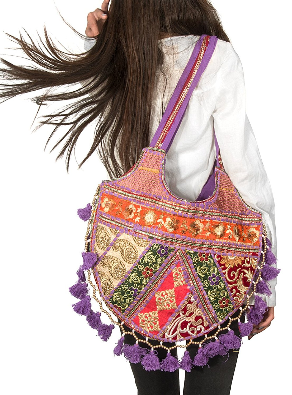 Funny Shopper Shoulder Lila My Unicorn Understands Me Large Beach Tote Bag