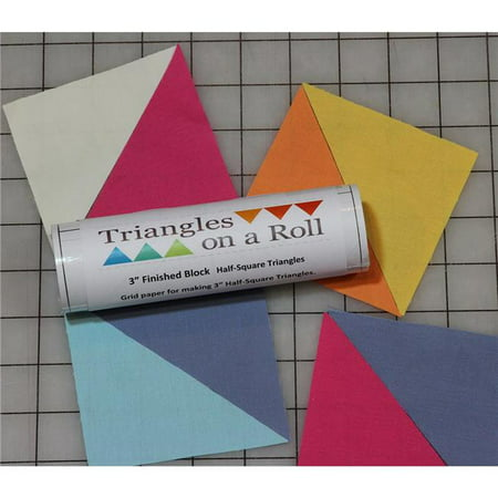 Half-Square Triangles On A Roll, 50