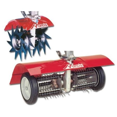 Mantis 7321 Power Tiller Aerator/Dethatcher Combo Attachment for