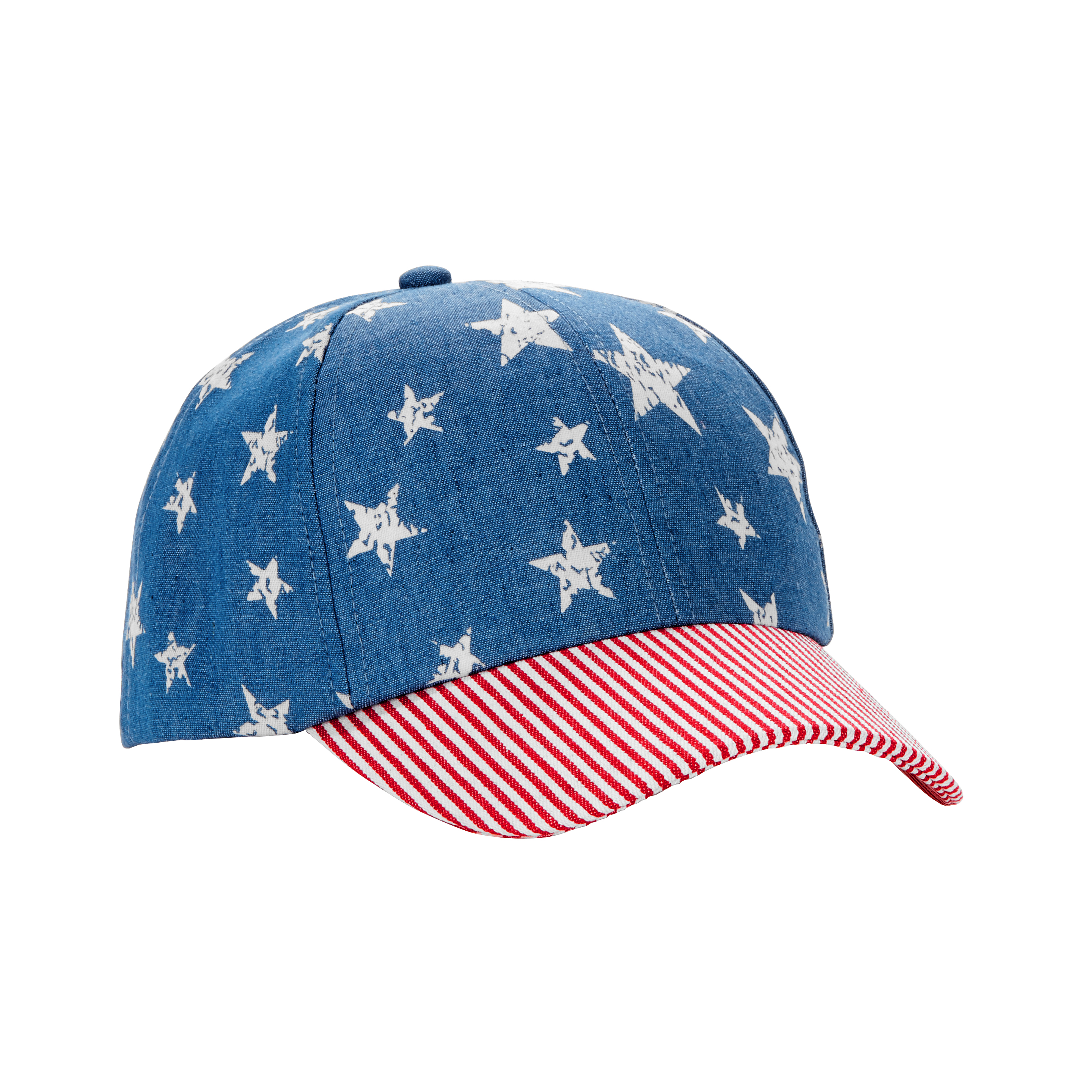 Women's Distressed Stars & Stripes Americana Baseball Hat