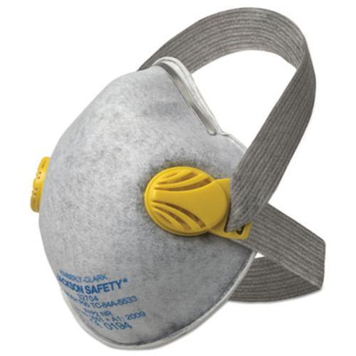 Kimberly-Clark 64560 R20 P95 Particulate Respirator W nuisance Level Organic Vapor Relief,p95,yellow by KIMBERLY-CLARK