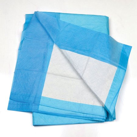 Advocate Moderate Absorbency Disposable Underpads, Blue, 23 In x 36 In, 50 Count, 14 oz ()