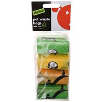 Lola Bean Waste Pick Up Bags 8 Refill Rolls(160ct,unscented)