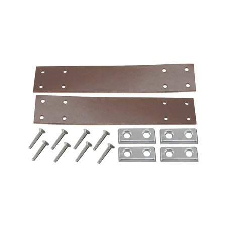 MACs Auto Parts Premier  Products 28-24257 Model A Ford Door Check Strap Kit - For Open Cars