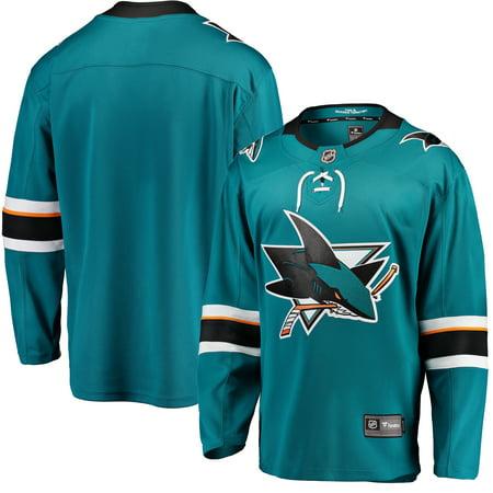 San Jose Sharks Fanatics Branded Breakaway Home Jersey - Teal](San Jose Party City)