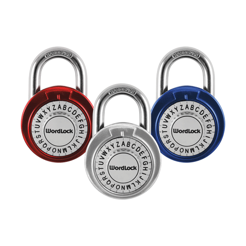 PADLOCK,COMBINATION WORDLOCK