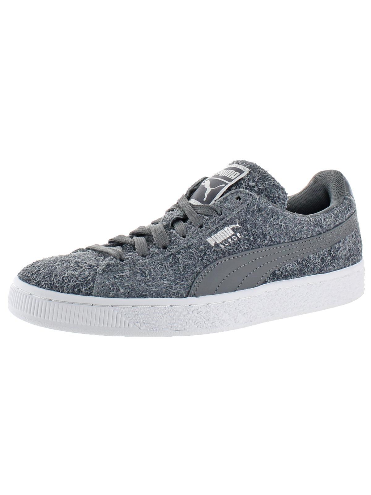 Puma Women's Suede Elemental Puma Black/Puma White Ankle-High Suede Fashion Sneaker - 8.5M