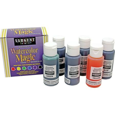 Sargent Art Watercolor Magic Kit, 6-Count (22-6022)](Magic Paint Kaleidoscope)